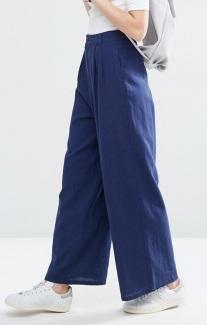 blue wide leg trousers - asos - wishlist - uk style blogger