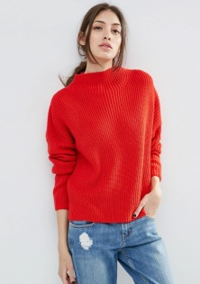 red chunky knit jumper - asos - wishlist - uk style blogger