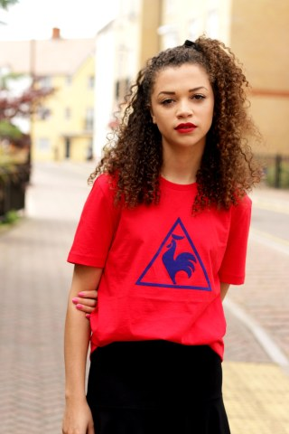 red le coq sportif tshirt - feminising the sports trend - style diary - charnelle geraldine 5