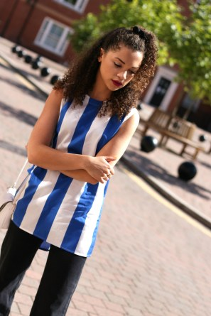 sporty - block colour top - weekday - charnellegeraldine - uk style blogger 7