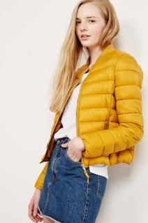 yellow quilted puffa jacket - bershka - wishlist - uk style blogger.jpg