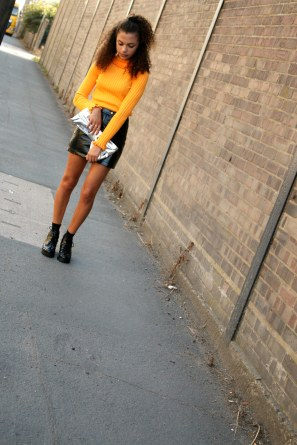 frill top - vinyl - eighties trend - autumn wardrobe - uk style blogger 5- charnellegeraldine.jpg