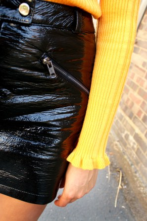 frill top - vinyl - eighties trend - autumn wardrobe - uk style blogger 6- charnellegeraldine.jpg